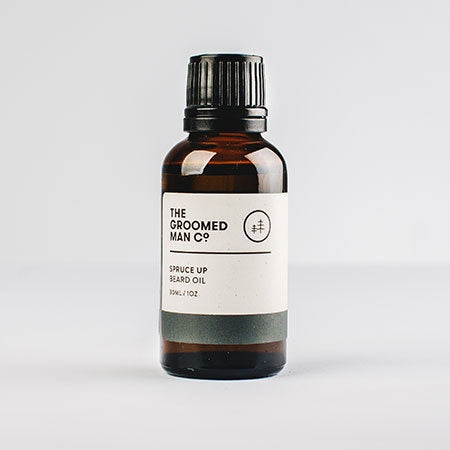 The Groomed Man Co - Spruce Up Beard Oil / 30ml