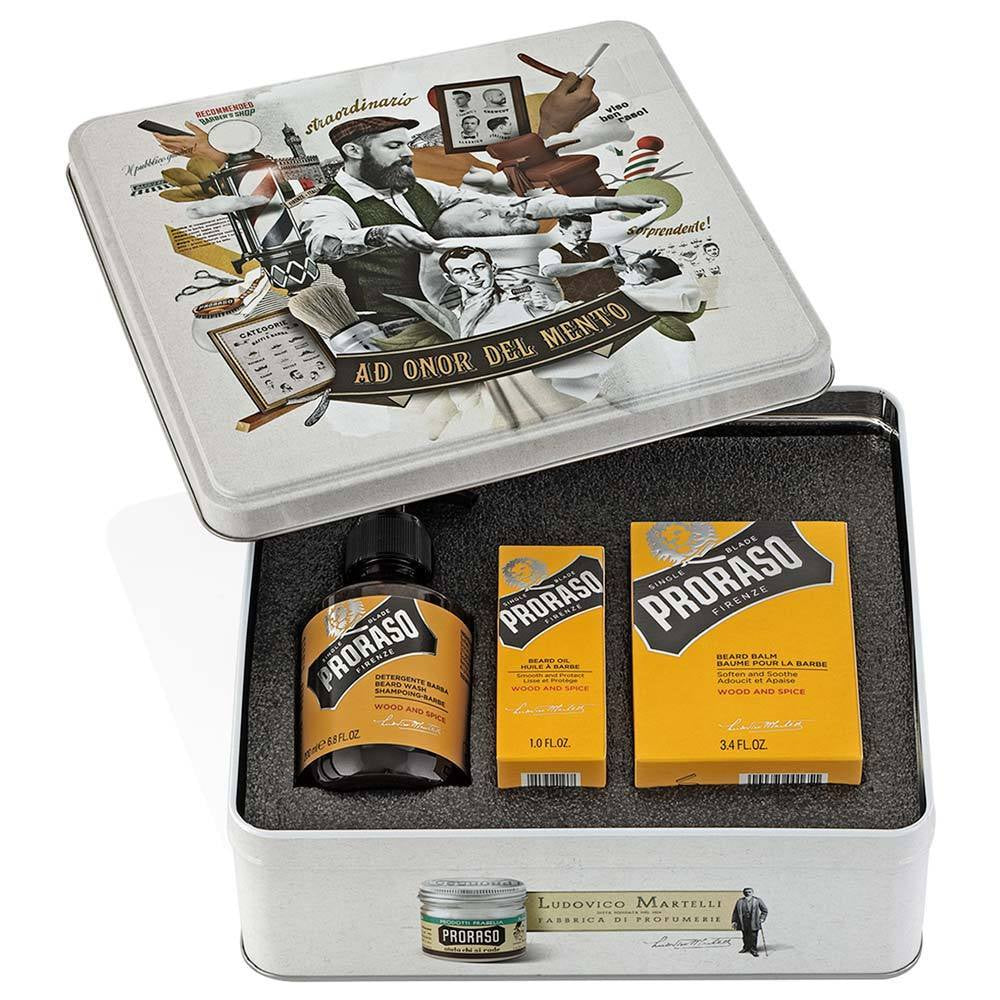 Proraso Beard Tin Wood and Spice