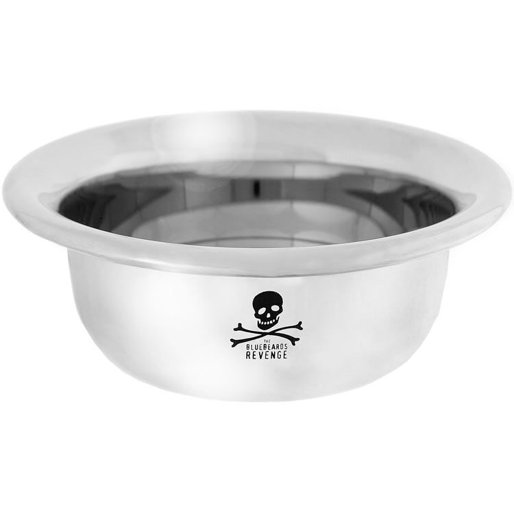Bluebeards Revenge Stainless Steel Shaving Bowl
