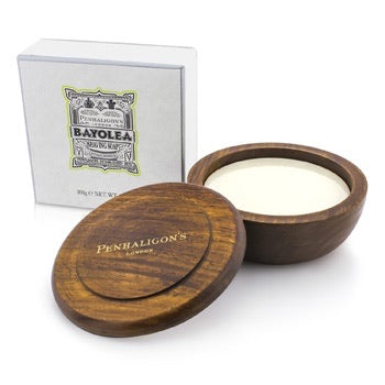 Penhaligon's Bayolea Shave Soap in Wooden Bowl