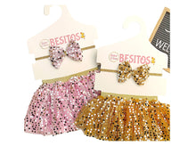 Load image into Gallery viewer, Sparkle Pink Baby Tutu & Headband