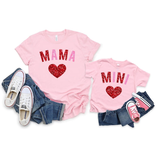 Mama & Mini Matching Valentine Shirts
