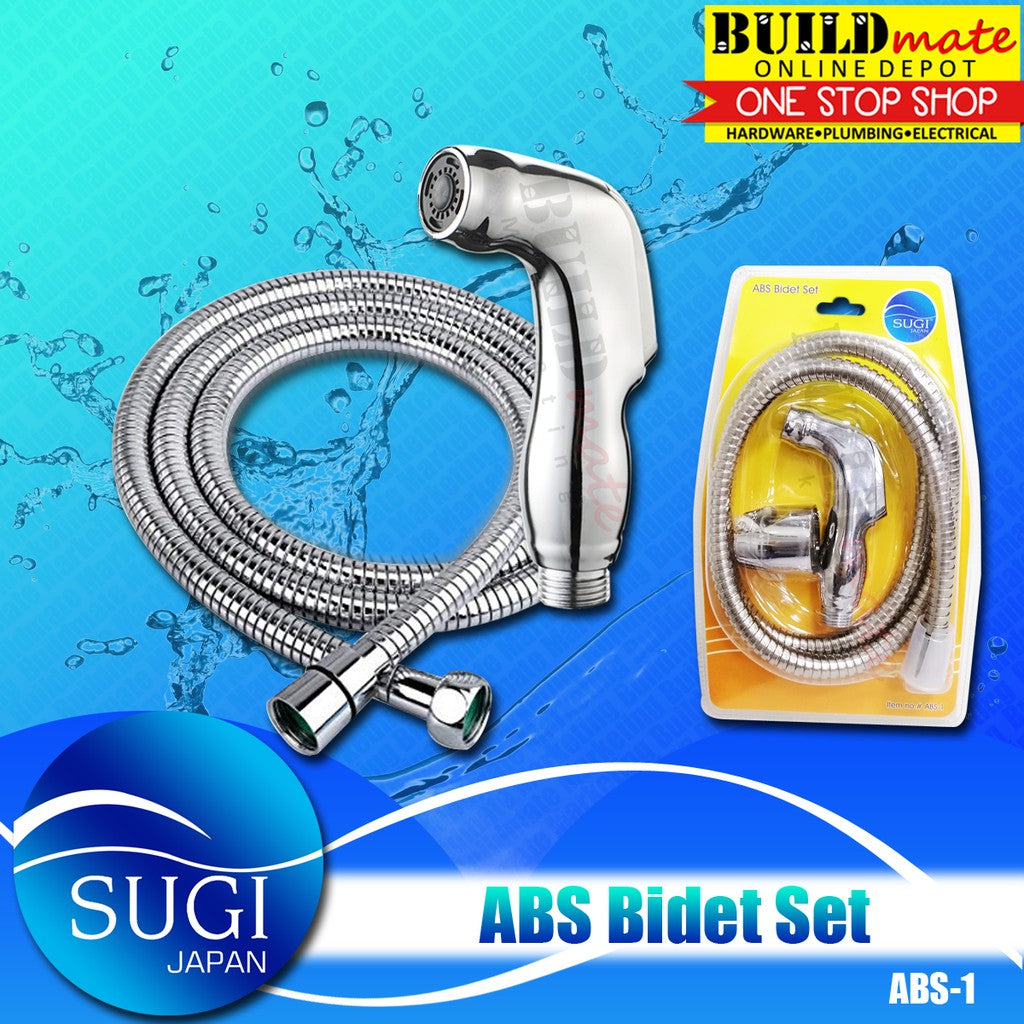 SUGI JAPAN ABS Bidet with Hose SET ABS-1 •BUILDMATE•