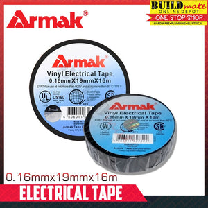 Armak Electrical Tape 16M 0.16mmx19mmx16m •100% ORIGINAL•