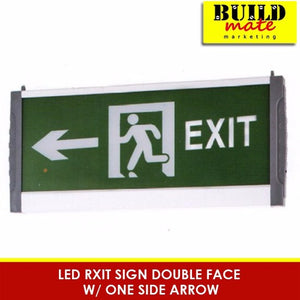 LED Exit Sign Double Face with One One Side Arrow LEL-Z01GTE-3