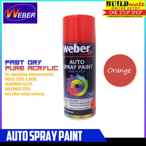 WEBER Auto Spray Paint SP-14 ORANGE