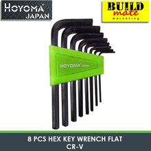 Load image into Gallery viewer, Hoyoma Hex Key Wrench Flat CR-V 8pcs/10pcs  NEW ARRIVAL!