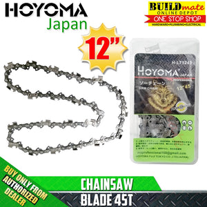 "Hoyoma Chainsaw BLADE Only 12"" 45T for Chainsaw Attachment 11.5"" •BUILDMATE•"