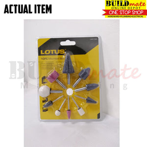 Lotus Mounted Stone 10PCS/SET LMS1006