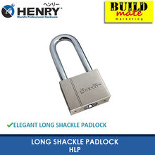 Load image into Gallery viewer, HENRY Long Shackle Padlock HLP