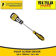 Load image into Gallery viewer, POWERHOUSE Screw Driver PHILIP/FLAT