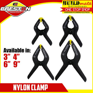 "CRESTON Nylon Clamp 3"" / 4"" / 6"" / 9"""