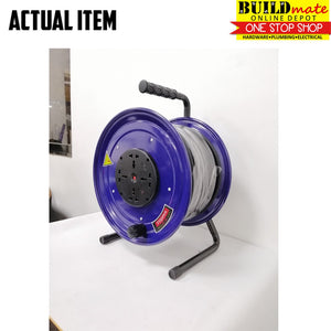 Fujima Extension Wheel Cable Reel 30METERS QT-30 NEW!