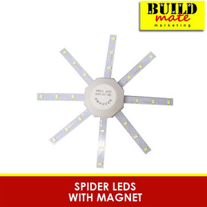 Spider LEDS with Magnet Circular Tube