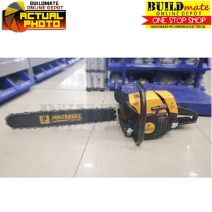 "Powerhouse 25"" Gasoline ChainSaw 3300W PH-CHSW-381-25"""