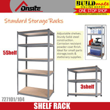 Load image into Gallery viewer, ONSITE Standard Storage Rack 3 / 5 SHELF