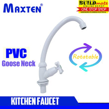 Load image into Gallery viewer, Maxten Goose Neck Kitchen Faucet PVC •BUILDMATE•
