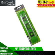 "Load image into Gallery viewer, Hoyoma Torpedo Level 9"" w/magnet base TL-9A"
