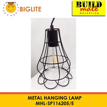 Load image into Gallery viewer, BIGLITE Metal Hanging Lamp MHL-SP116205/E