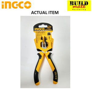 "INGCO Bent Nose Pliers 6"" (160mm) HBNP28168"