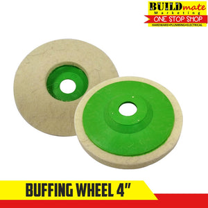 Buffing Polishing Wheel White Cloth for Stainless 4""