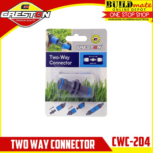 CRESTON Two Way Connector for Garden Hose CWC-204