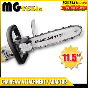 "MGTools Angle Grinder Chainsaw Attachment Adaptor 11.5"" •BUILDMATE•"