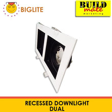 Load image into Gallery viewer, BIGLITE Single Recessed Dual YP135-2-WH