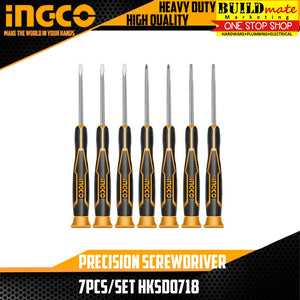 INGCO Precision Screwdriver 7pcs/SET HKSD0718
