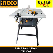 Load image into Gallery viewer, INGCO Table Saw 1500W TS15007