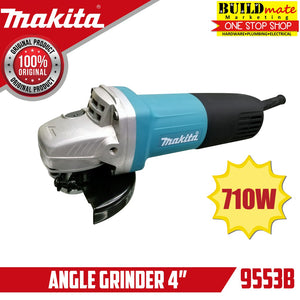 MAKITA BLUE COMBO Angle Grinder 9553B & Hand Drill 6411  +FREEDISC&GLOVES