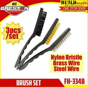 CRESTON Brush 3pcs/SET Big/Small