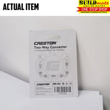 Load image into Gallery viewer, CRESTON Two Way Connector for Garden Hose CWC-204