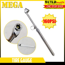Load image into Gallery viewer, MEGA Pencil Type Tire Gauge 160PSI •NEW!•