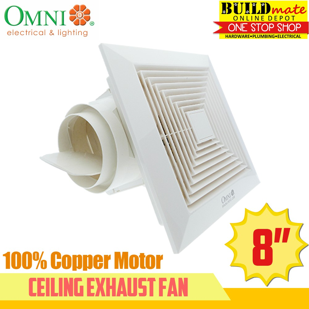 Omni Ceiling Exhaust Fan 8