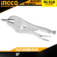 Load image into Gallery viewer, INGCO Flat Locking Pliers HFLP0110
