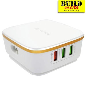 Bavin USB 6 Port extension cord Auto ID 2.0 Quick Charge