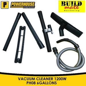 Powerhouse Wet&Dry Vacuum Cleaner 6Gallons