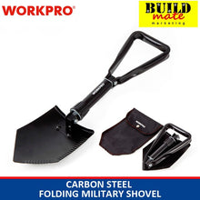 Load image into Gallery viewer, WORKPRO Carbon Steel Folding Military Shovel