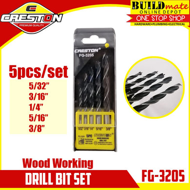 CRESTON Wood Working Drill Bit 5PCS/SET FG-3205