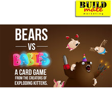 Load image into Gallery viewer, Bears vs. Babies Card Game in a Fur with Expansion