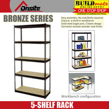 Load image into Gallery viewer, ONSITE 5 SHELF Storage G-Rack BRONZE SERIES