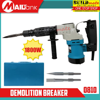 MAILTANK Demolition Breaker Hammer Chipping 1800W 0810 •BUILDMATE•