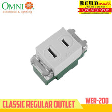 Load image into Gallery viewer, Omni Classic Regular Outlet 10A 250V WER-200