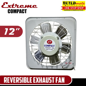 "Extreme COMPACT Reversible Exhaust Fan 12"" 100% ORIGINAL!"