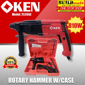 KEN Rotary Hammer with Case 810W 2526GE •NEW ARRIVAL!•