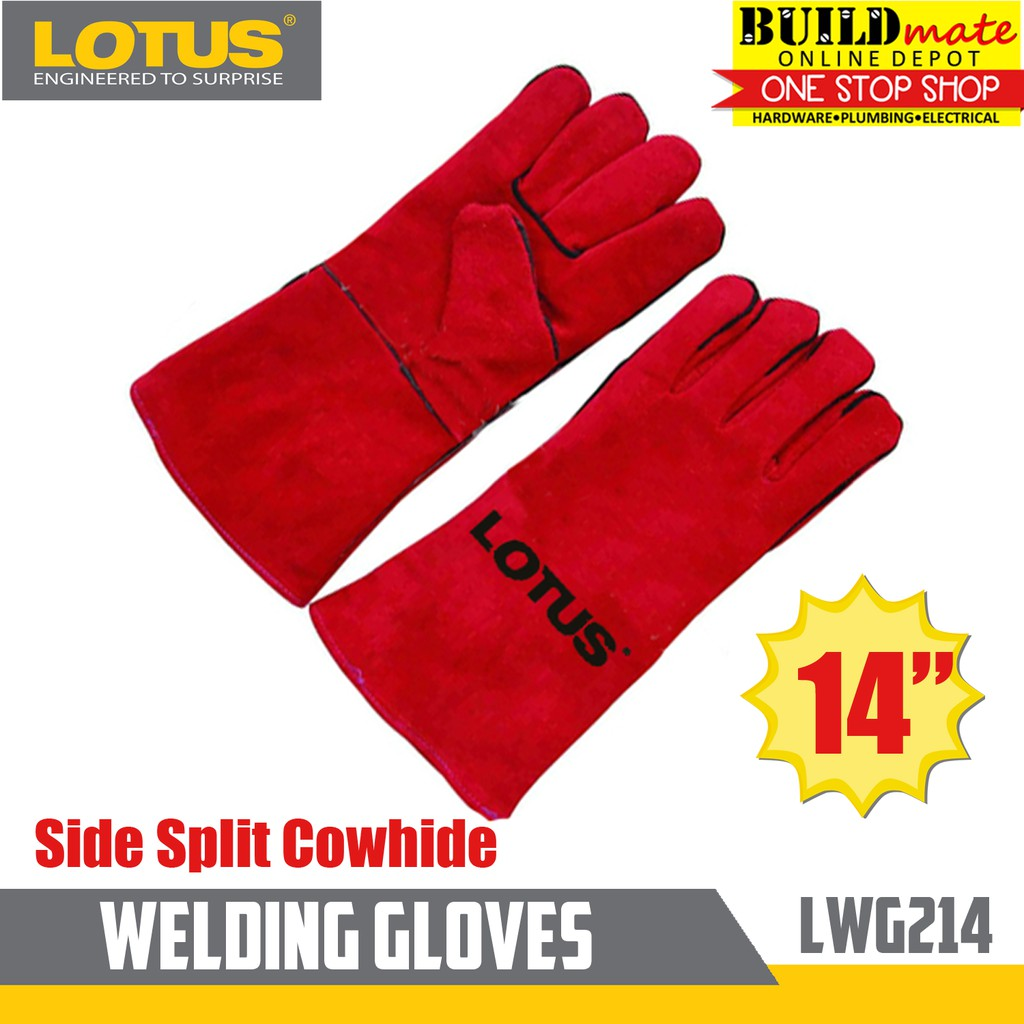 Lotus Welding Gloves Side Split Cowhide LWG214