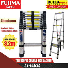 Load image into Gallery viewer, Fujima Telescopic Double Side Ladder Aluminum AY-ZJ3232