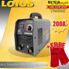 Load image into Gallery viewer, Lotus Arc Inverter Welding Machine 200A LTIW200D +FREEWeldingGloves