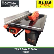 "Load image into Gallery viewer, Hoyoma MINI Table Saw 8"" 800W TS200"